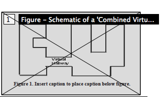 Box labelled 'Figure - Schematic of a Combined Virtu...' superimposed over a figure in a paper.