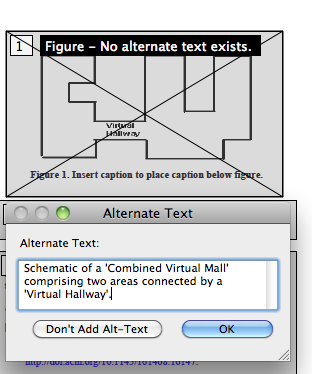 Alternate text dialog box with description of the figure.